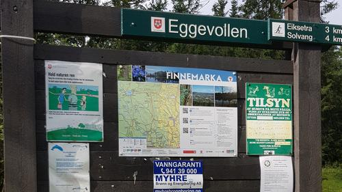 Startsted ved Eggevollen