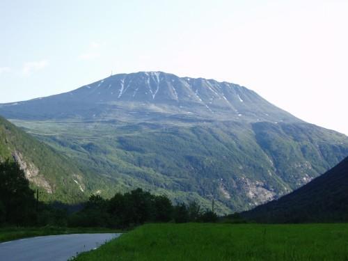 Gaustatoppen, det finaste fjellet i landet. Juli 2004. Foto Ole Jakob Bråten