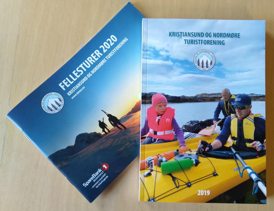KNTs årbok for 2019 og fellesturprogram 2020