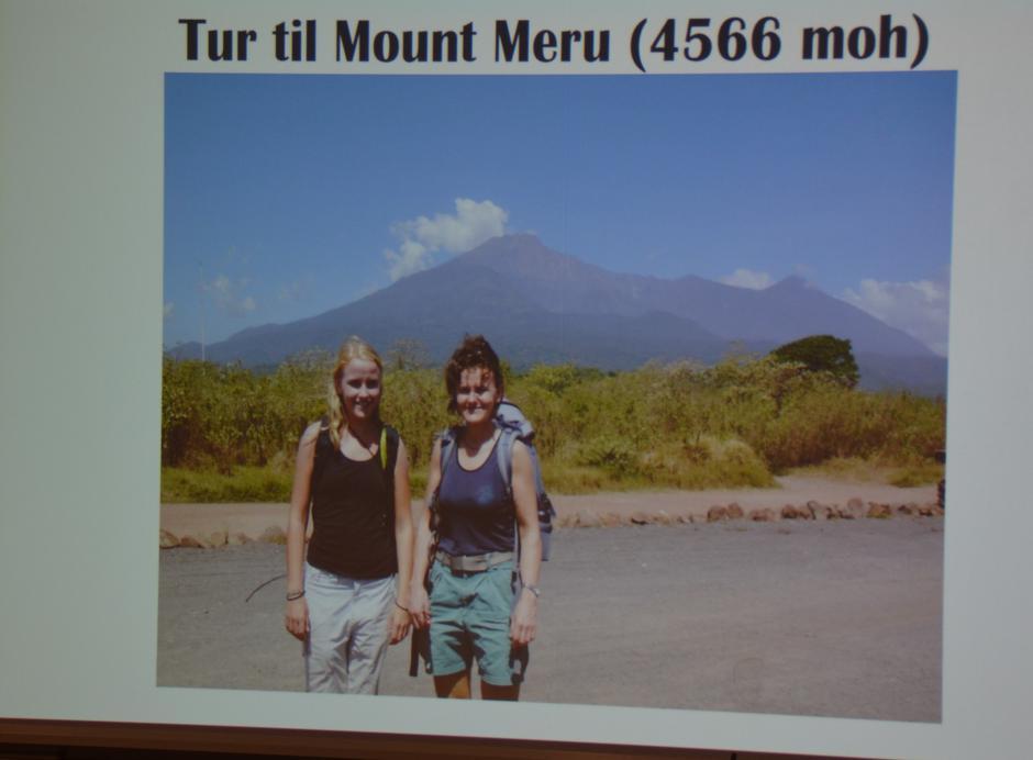 Foredrag om Mount Meru - Kilimanjaros vakre lillesøster