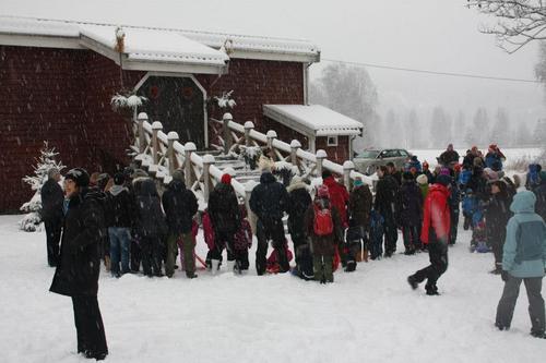 Juleavslutning Barnas Turlag