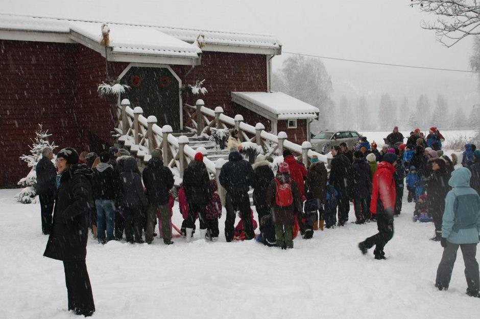 Juleavslutning 2015 Barnas Turlag