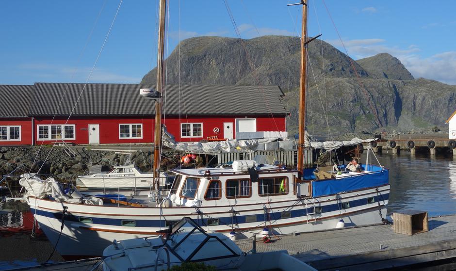 Golden Keel på Kystfjellseilas med Vandregruppa i DNT Oslo