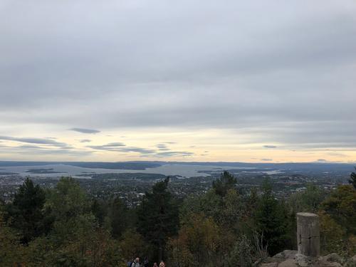 Utsikt fra Vettakollen.
