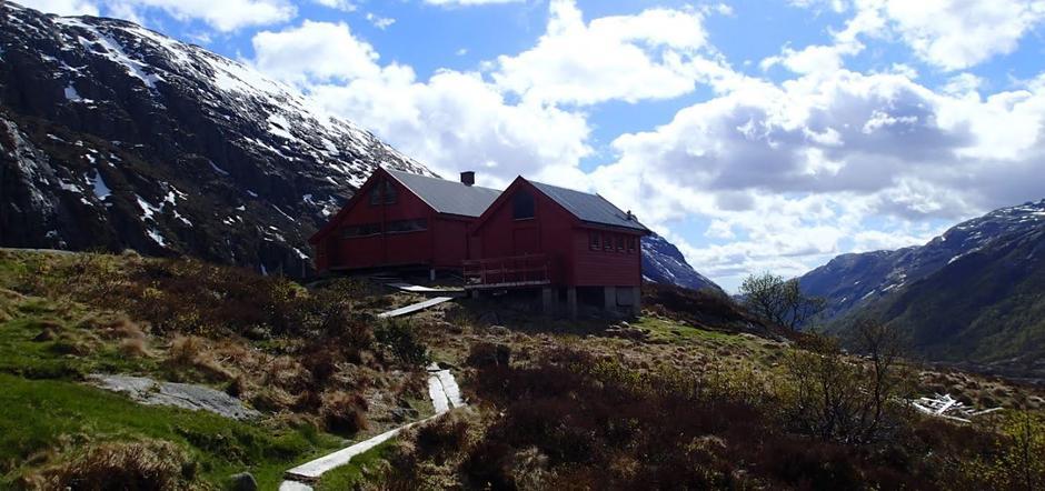 Rekordtidlig sesong på Blåfjellenden.