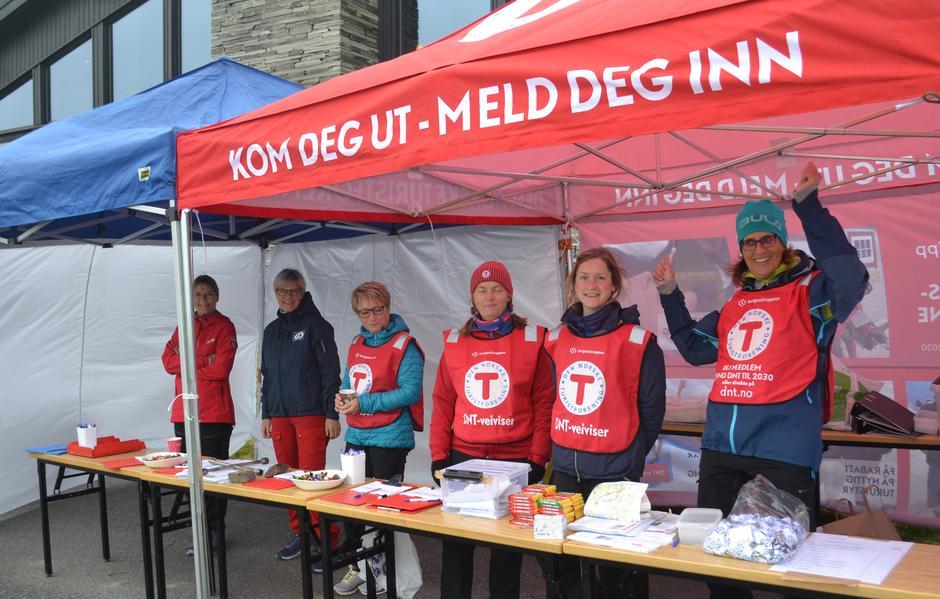 Frivillige fra GD og DNT Lillehammer.