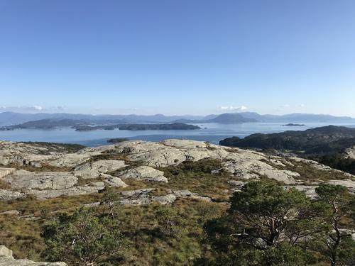 Utsikt får Høgafjellet