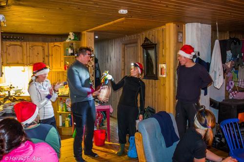 Fjellsportgruppas Julebord 2015 på RødeKorshytta Tromsø