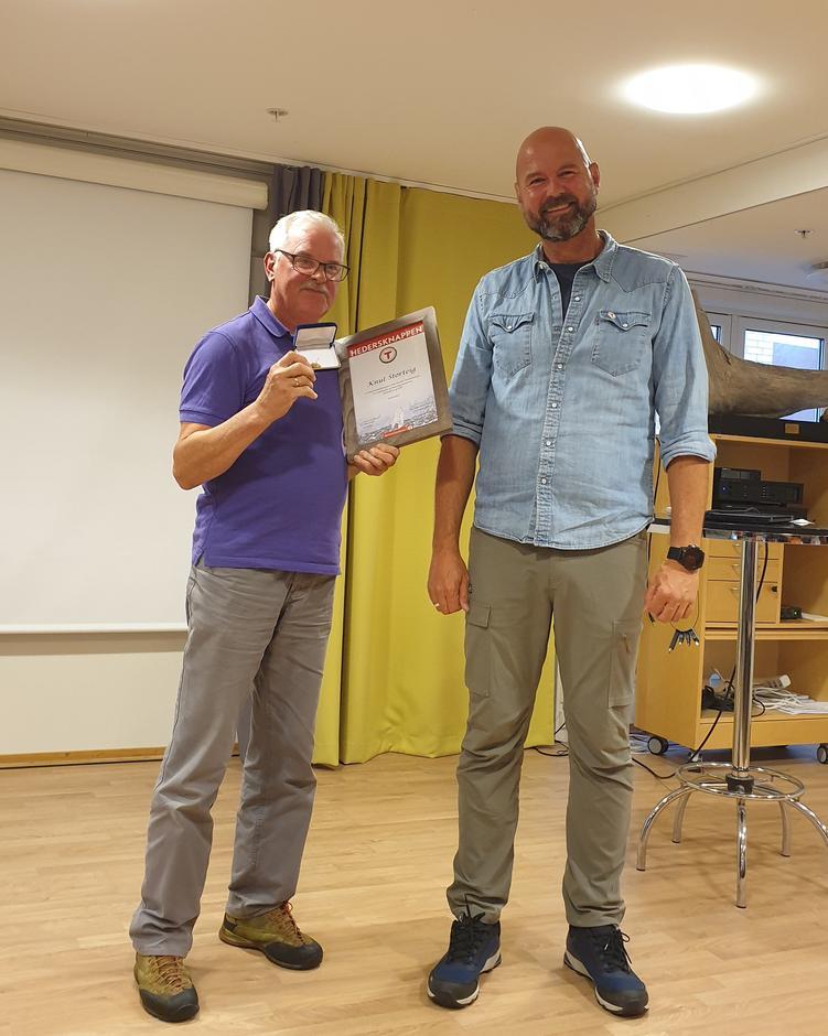 Knut Storteig og Dag Terje
