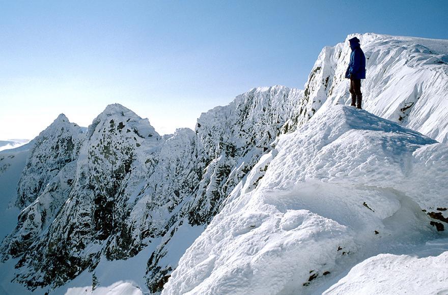 VILT OG VAKKERT: Snøhettamassivet er storslått på en dag som denne.