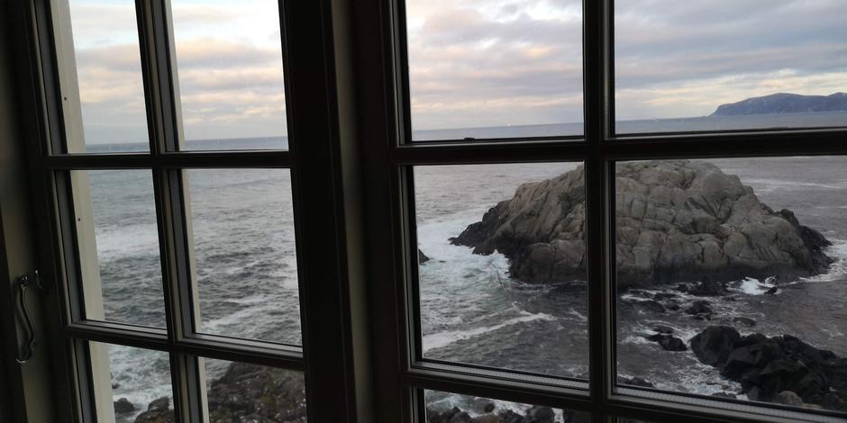 Stormhuset utsikt fra kjøkken