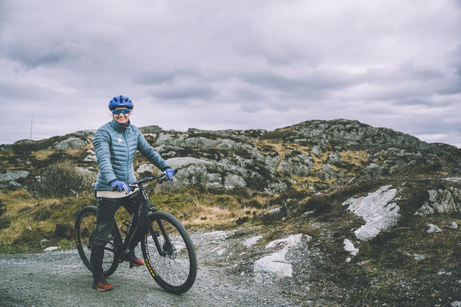 Sykkeltur til Flokehyttene ved Haugesund
