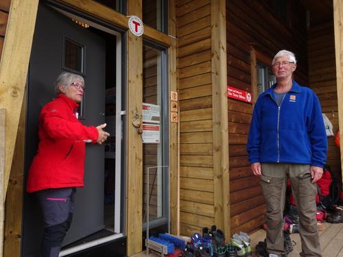 Offisiell åpning av DNT-hyttene på Kvinen