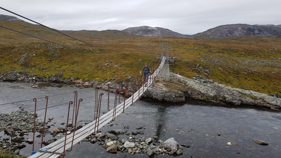 Sommerbro over Rjoåni