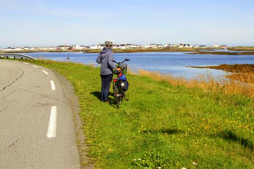 Sykkeltur på Smøla.