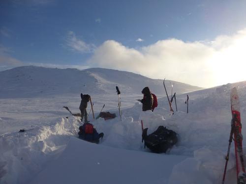 Vinterfriluftsliv, Lifjell