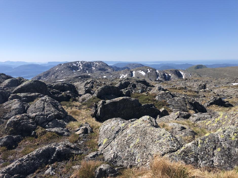 Utsikt til Sydpolen og Hausdalshorga