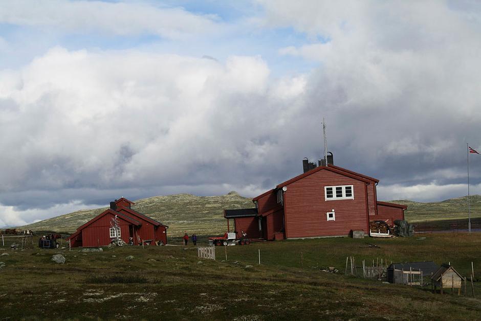 Tradisjonsrike Rauhelleren på Hardangervidda. Hit går ferden i uke 1, fra 12. juli.