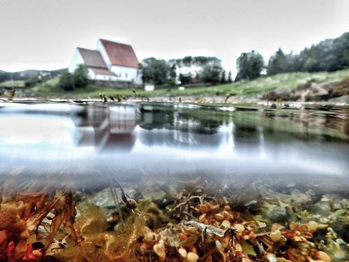 Trondenes -Harstad. Over og under vann. Tatt 5.juli 2016