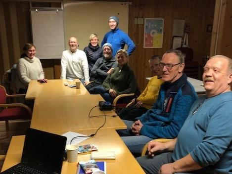 Kari (BT), Per Arne, Inger Lise, Kjell Morten, Svenn Petter, Jannike, Rob, Arne og Steinar.