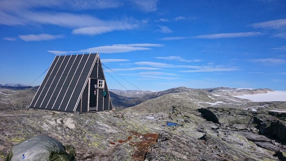 Fin fjelltur til Spørteggbu i Jostedal 😃