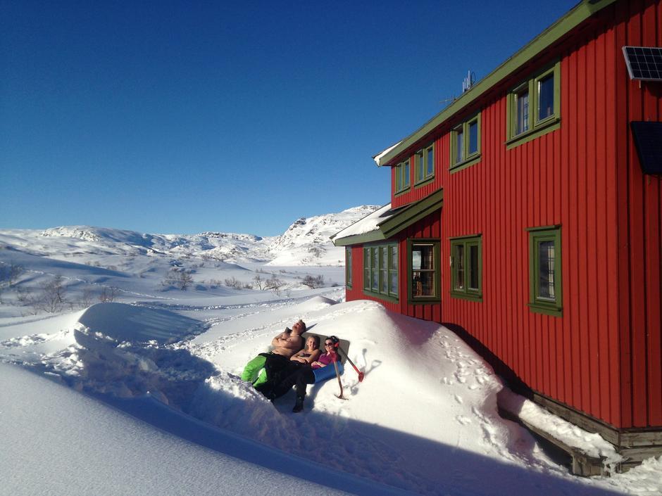 Ta livet med ro på en fjellhytte!