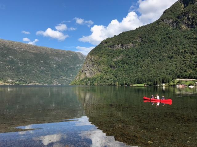 Nydeleg dag på Rundøyri i Vik