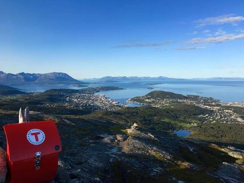 Utsikt mot Harstad