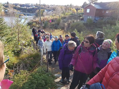 Seniorturen til nordre Bildøyna 18. oktober 2017