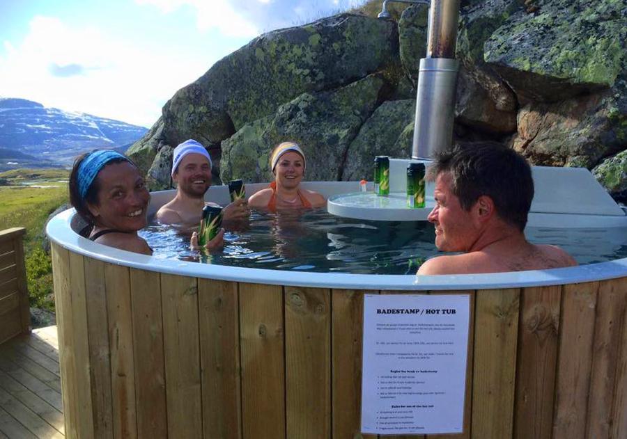 Frister en varm badestamp 1024 meter over havet, kanskje?