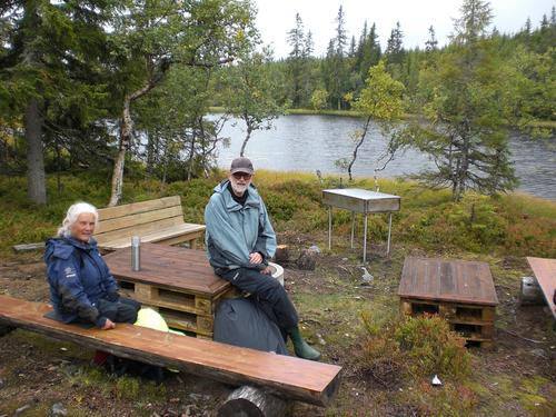 Bergsjøen - Skålen 13. september