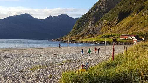 Fantastiske Grøtfjord-stranda!