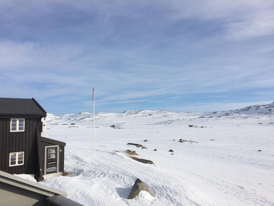 Bilde fra Finsehytta 28. mars 2017