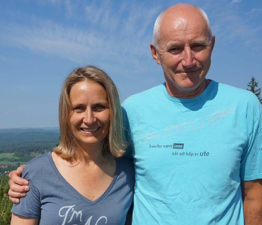Ragnhild Narum og Per Hanasand