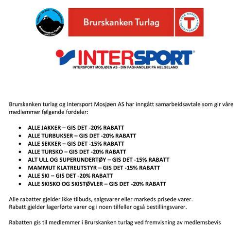 Samarbeidavtale DnT Brurskanken og Intersport