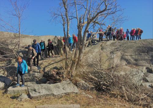 Tur fra Flatstrand til Oterøya med Seniorgruppa