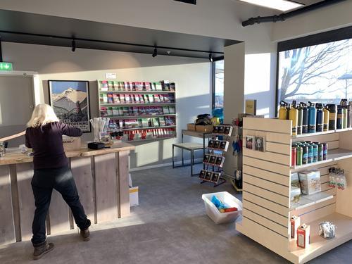 Ny butikk i Strandgata 45