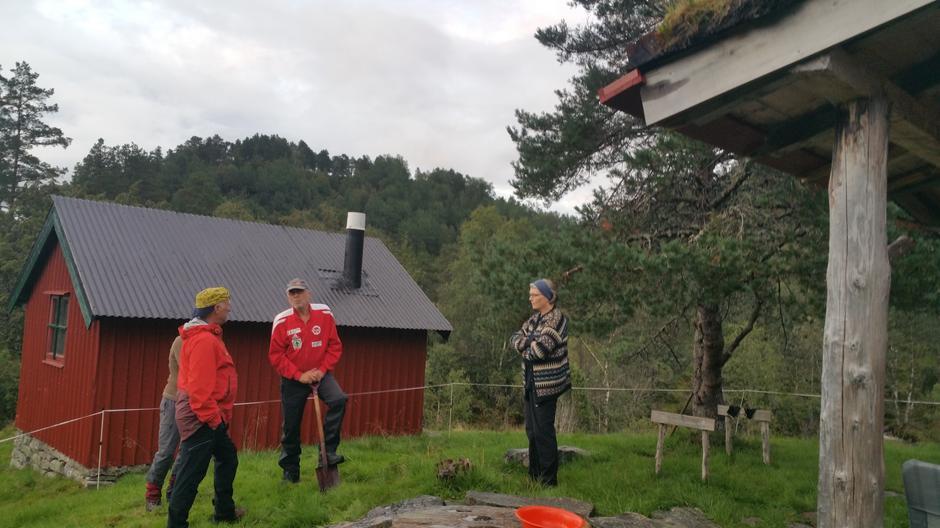 Kjekk avstikkar til Osstøylen.