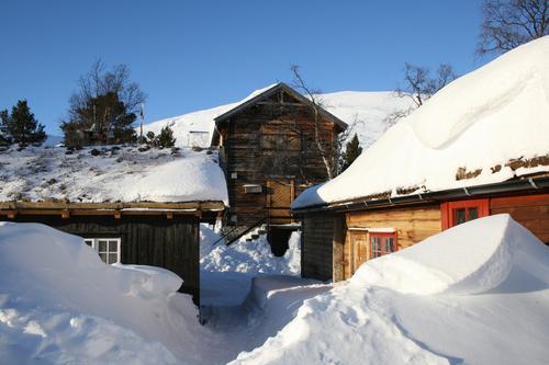 Vangshaugen er et flott sted for vinteraktiviteter. Grødalen er snørik og kan gi gode opplevelser til langt ut på våren.