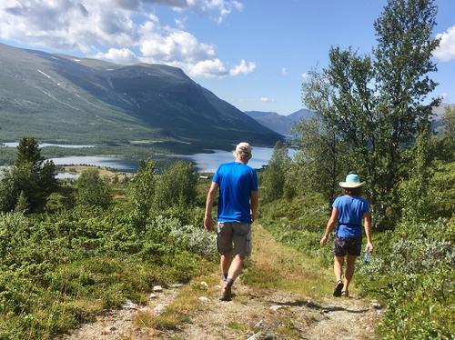 3. august var det tur langs Stølsruta frå Nøsen til Jaslangen