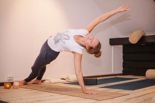 Yogainstruktør Rebecca