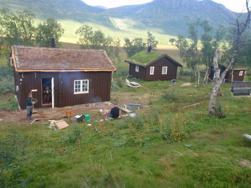 Krukki og Saltfjellstua er nå låst med DNT-nøkkel