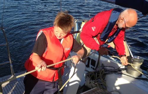 Seiltur i Holmestrandsfjorden