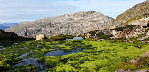 Trollfjellet sett fra Helligtind