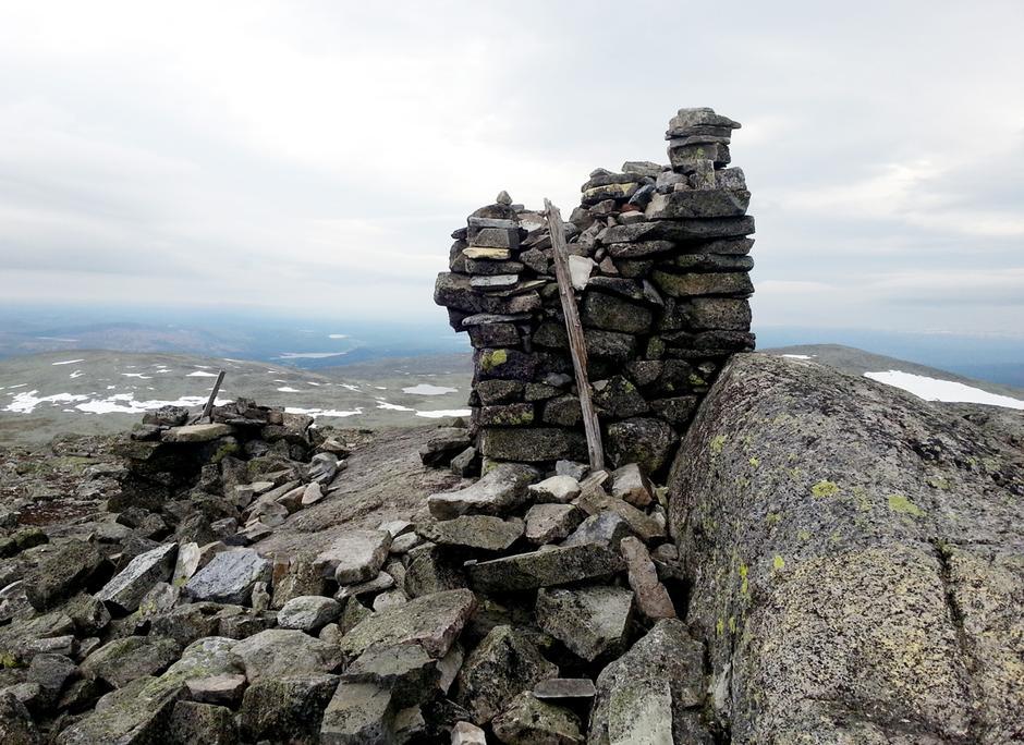 Storviglen (1 561 moh.) er den høyeste fjelltoppen i Røros.