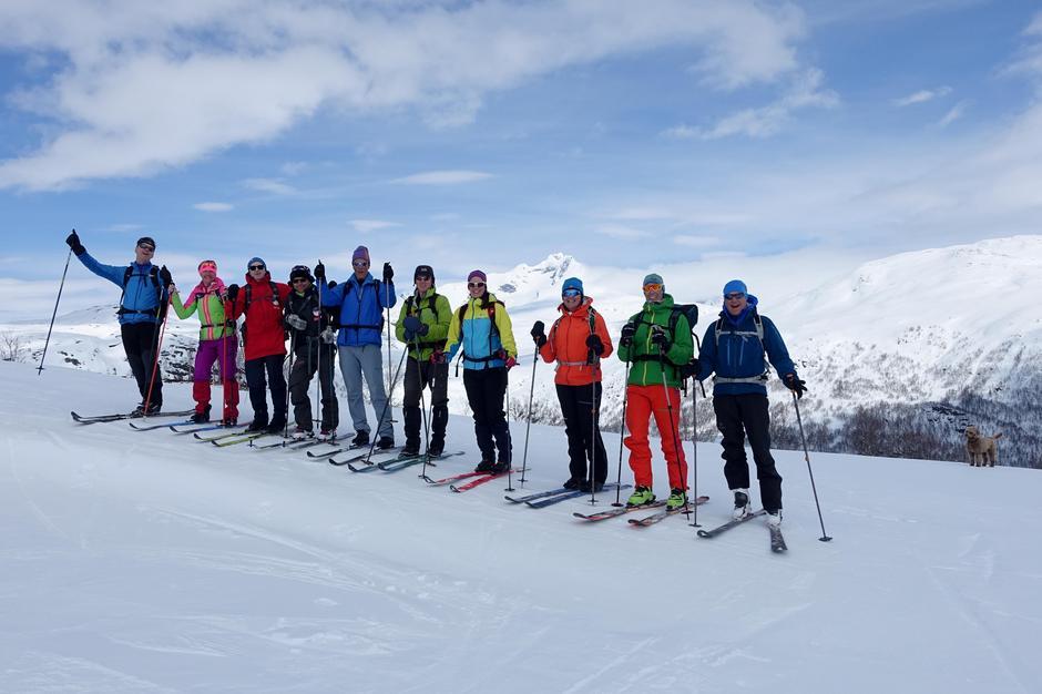 Skitur til Gruvefjellet 29.april 2017.