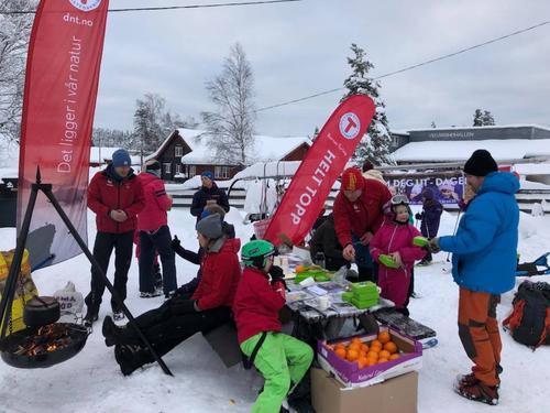 Kom Deg Ut-dagen på Vegårshei Ski- og Aktivititetssenter januar 2018.