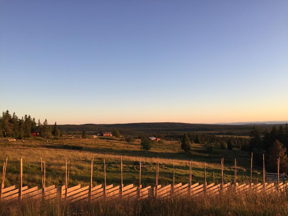 Herlig utsikt fra Målia