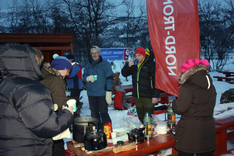 Bilde fra Nord-Troms Turlag sin Kom deg ut-dag i februar 2015.