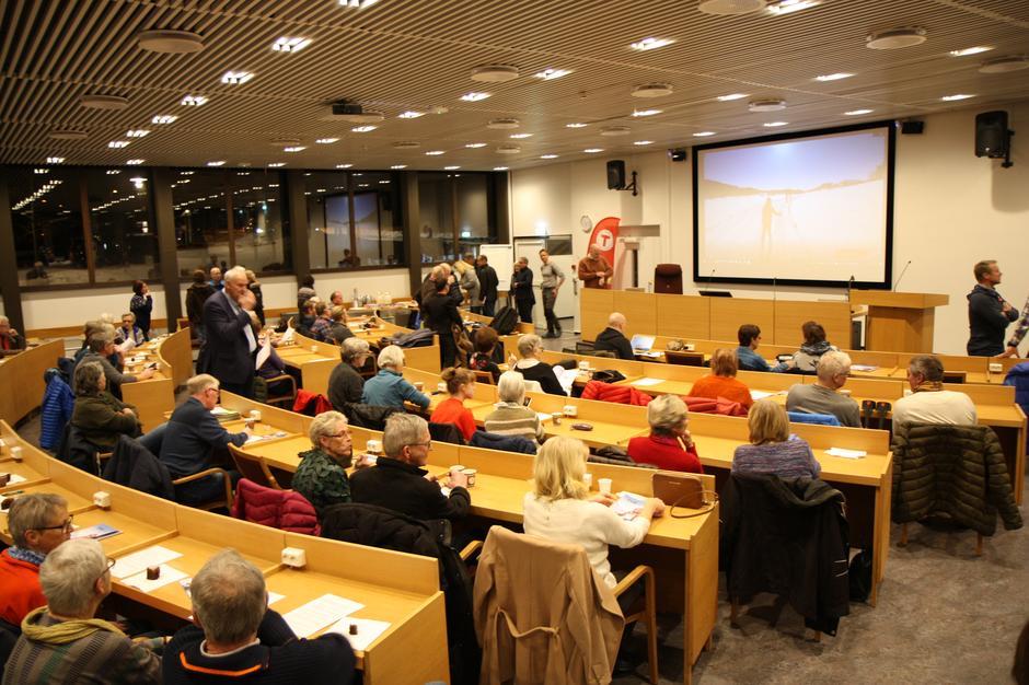 Stiftelsesmøtet - Lørenskog Turlag